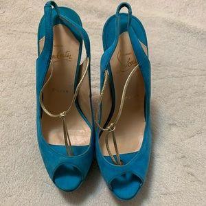Christian Louboutin women heels new